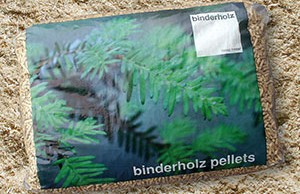 Pellet di abete rosso austriaco Binderholz