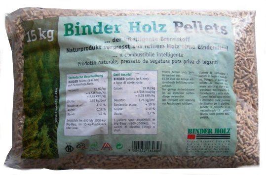 Vendita pellet Binderholz